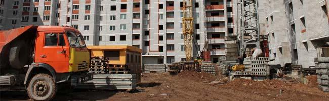 Задержка строительства жилого дома в Уфе из-за подвижного грунта